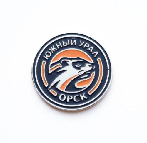 Значок Южный Урал новый (хорек)